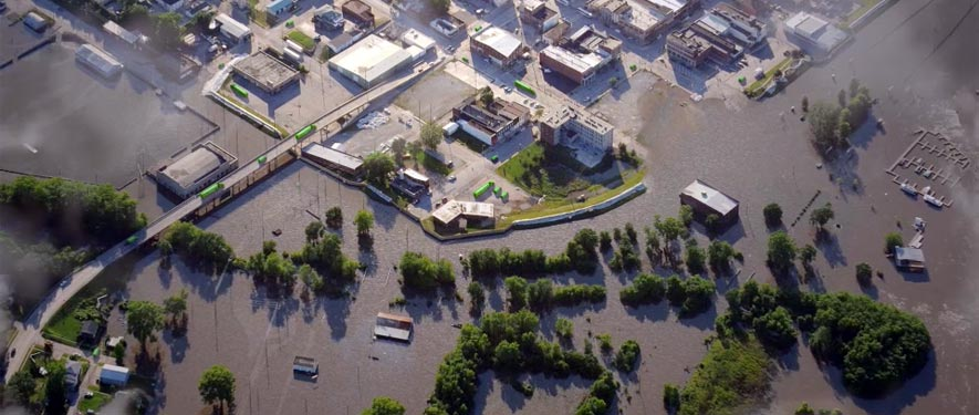 Moline, IA commercial storm cleanup